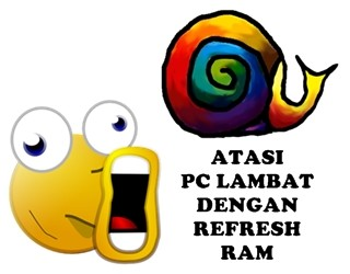 Atasi pc/laptop lambat dengan refresh ram