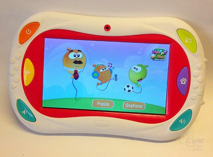 Elegraf grafica freelance chicco happy tab tablet a for Happy tab chicco microfono
