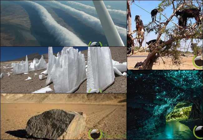 7 Lokasi Tempat untuk melihat Keajaiban Alam yang Menakjubkan