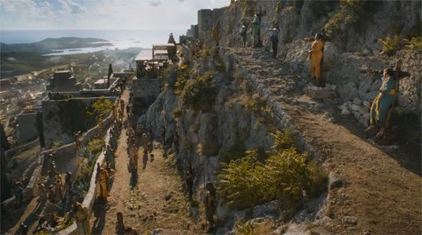 """Captura de los amos de Meereen en """"Juego de Tronos 4x04"""""""