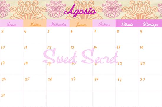 ... para ver el planing del mes en un vistazo y uno semanal, para apuntar