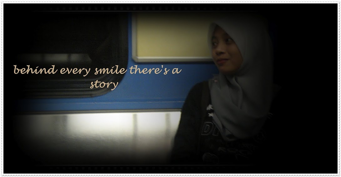 behind every smile there's a story
