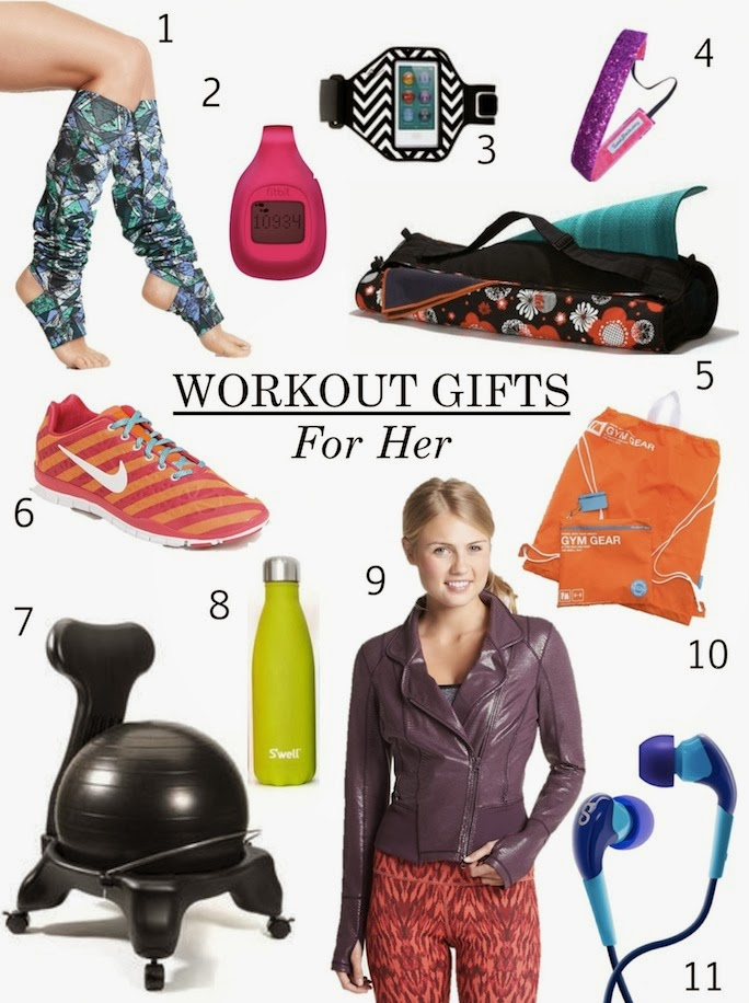 fitness gear gifts for her