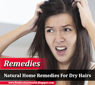 Natural Home Remedies For Dry Hairs - How Get Rid Of Dandruff