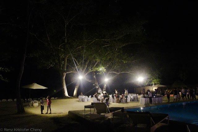 Blue Palawan at Night - FSRM Party 2015