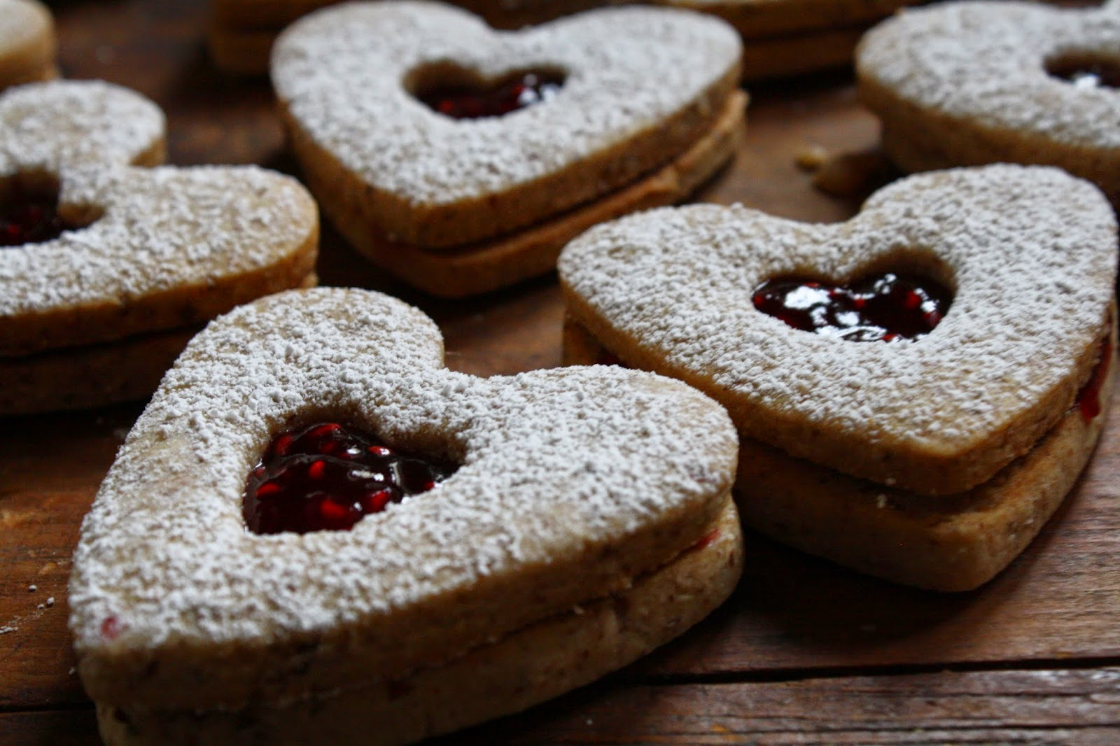 salted sugared spiced™: Linzer Sable Cookies