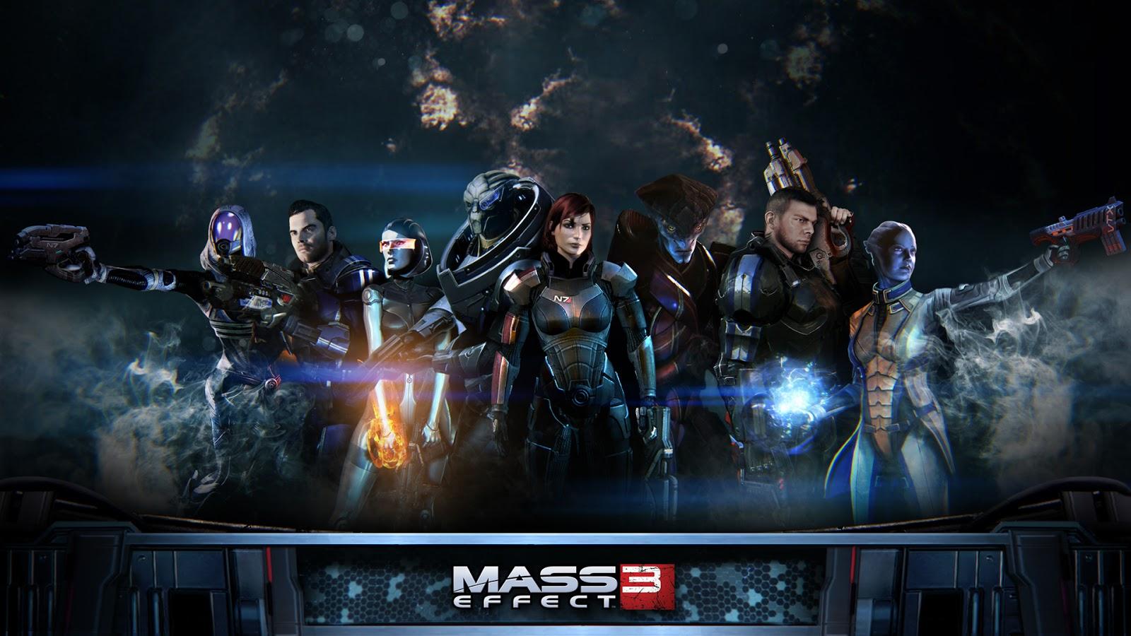 mass effect 3 game full hd desktop wallpapers 1080p