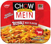 Nissin Chow Mein noodles