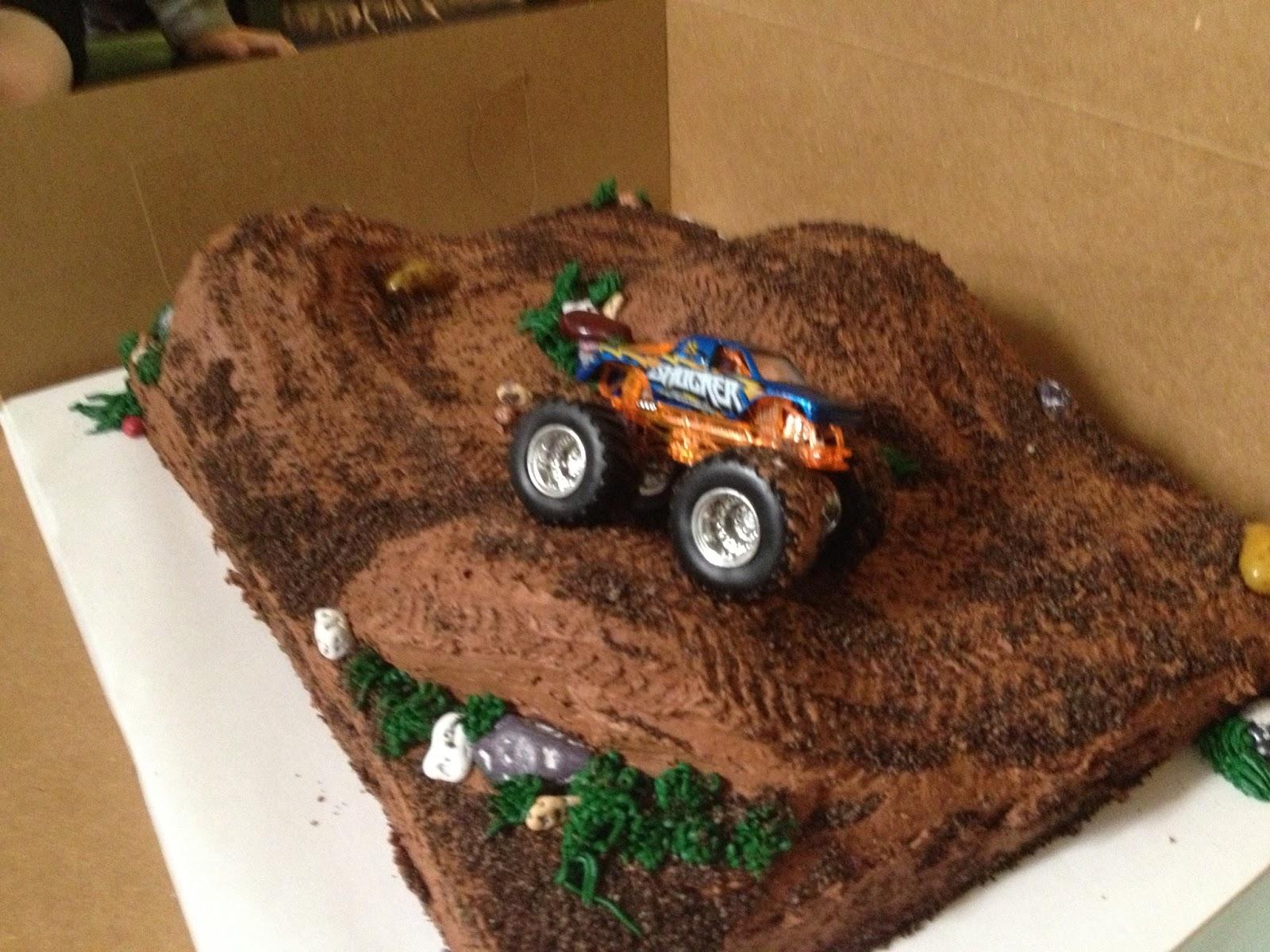 Cakecreated Monster Truck Cake