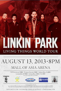 Living Things World Tour: Linkin Park Live in Manila, Linkin Park Live in Manila 2013, Living Things World Tour Manila, Linkin Park Philippines