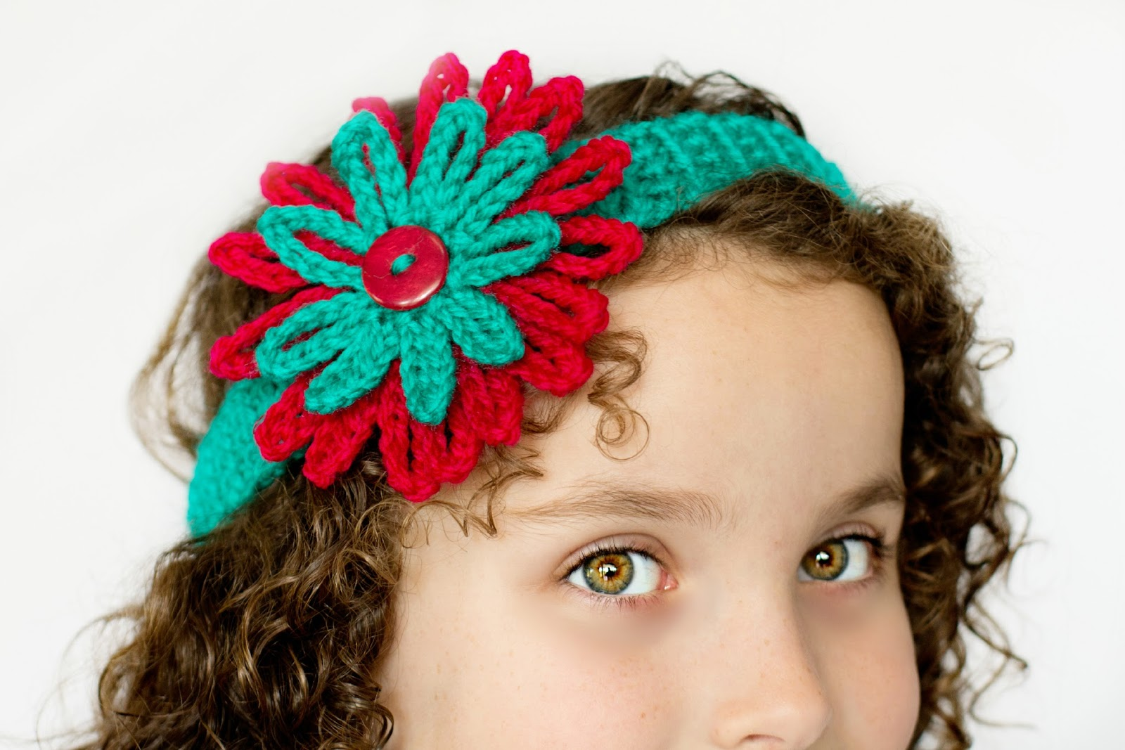 Free Crochet Pattern Headband With Flower : Hopeful Honey Craft, Crochet, Create: Season Of Giving ...