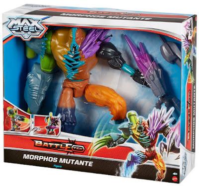 JUGUETES - Max Steel   Morphos Mutante | Figura - Muñeco | Battle-Tek  Producto Oficial 2015 | Mattel CJP06 | A partir de 4 años  Comprar en Amazon