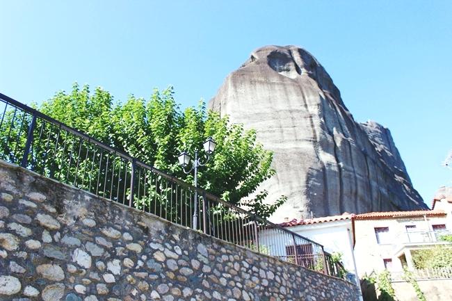Meteora, Kastraki, in the summer.
