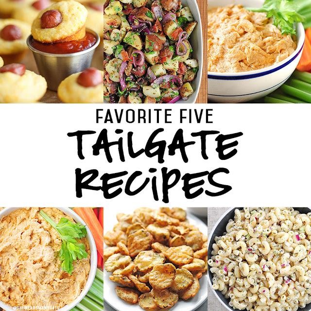 The Monogrammed Life: FAVORITE FIVE: TAILGATE RECIPES