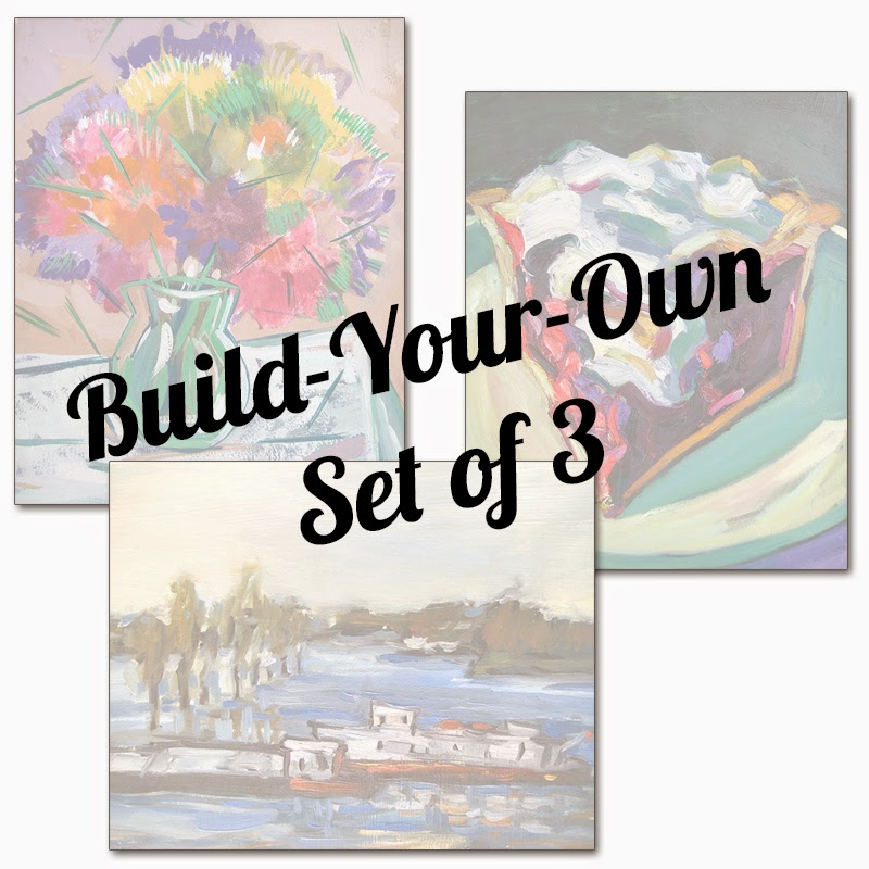 Build-Your-Own Set of Art Prints by Char Fitzpatrick