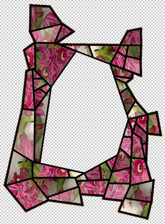 ArtbyJean - Paper Crafts: CRAZY PAVE #1 - SCRAPBOOK FRAMES