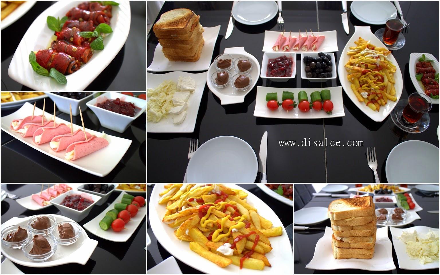 kahvaltılık öneriler