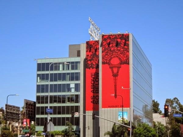Giant As Above So Below film billboard