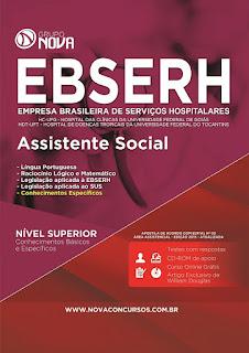 Apostila EBSERH GO 2015 - Assistente Social.