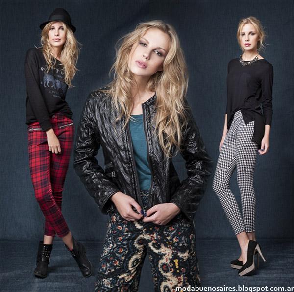 Moda otoño invierno 2014 Argentina - Wupper Jeans colección otoño invierno 2014.