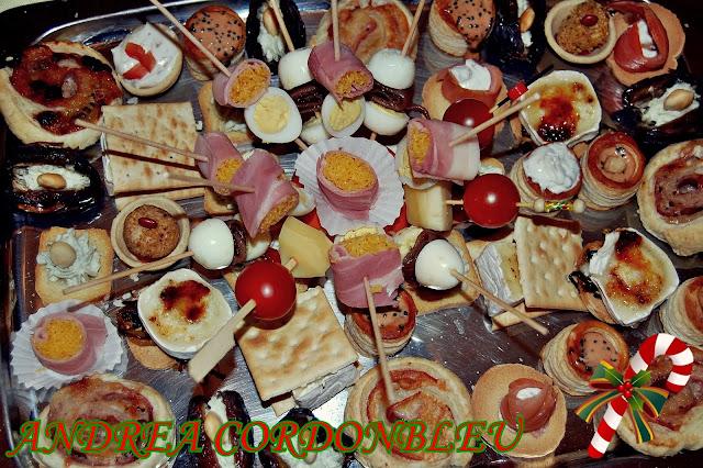 Cordonbleu selecci n de casi 50 ideas de canap s - Ideas para comida de navidad ...
