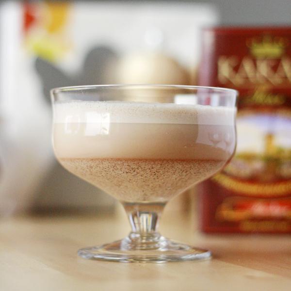 Белковый пудинг с какао
