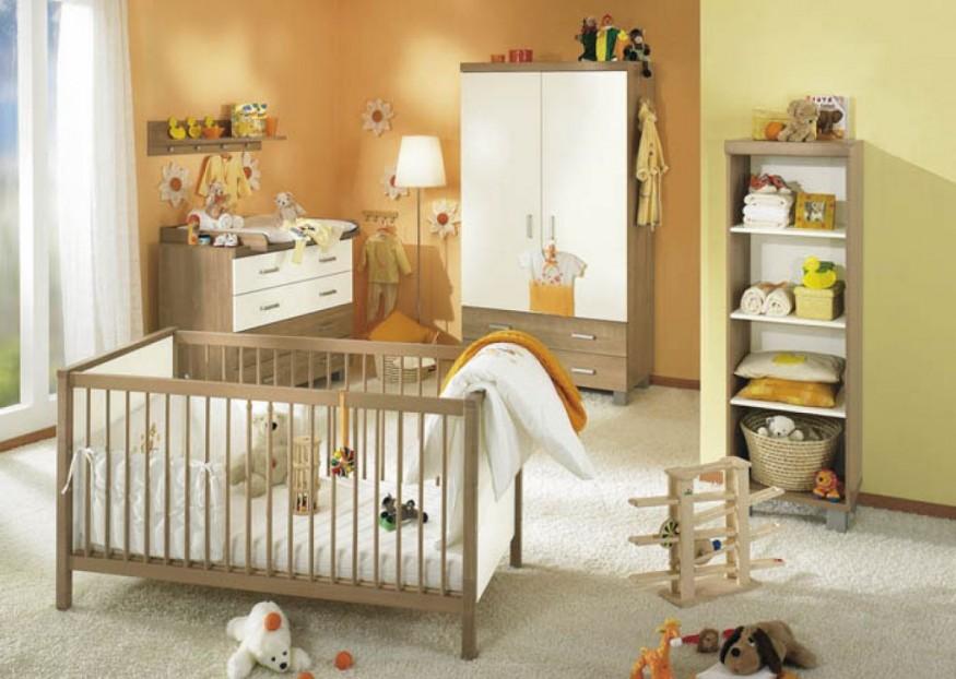 Image chambre bébé bois naturel - Bébé et décoration - Chambre ...