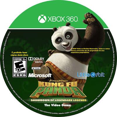 Label Kung Fu Panda Showdown Of Legendary Legends Xbox 360