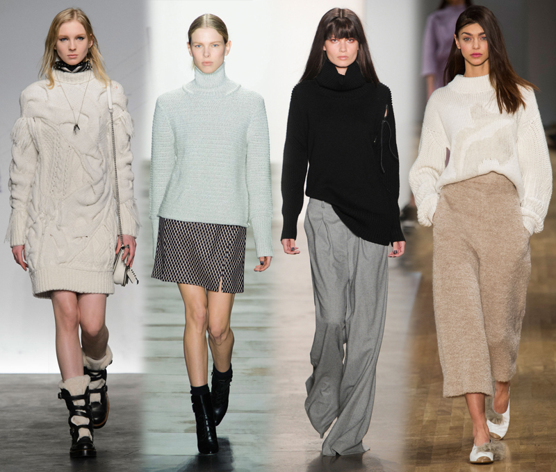 von vogue nyfw fall 2015 trends chubby turtleneck knit