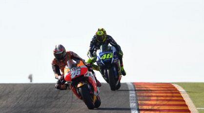 Hasil Motogp Aragon 2015 Dani Pedrosa vs Valentino Rossi