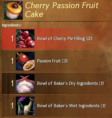The guild wars chef normally i make these recipes at the weekend and then put them in the blog on auto update not this one i made this one today and took the pictures just forumfinder Gallery