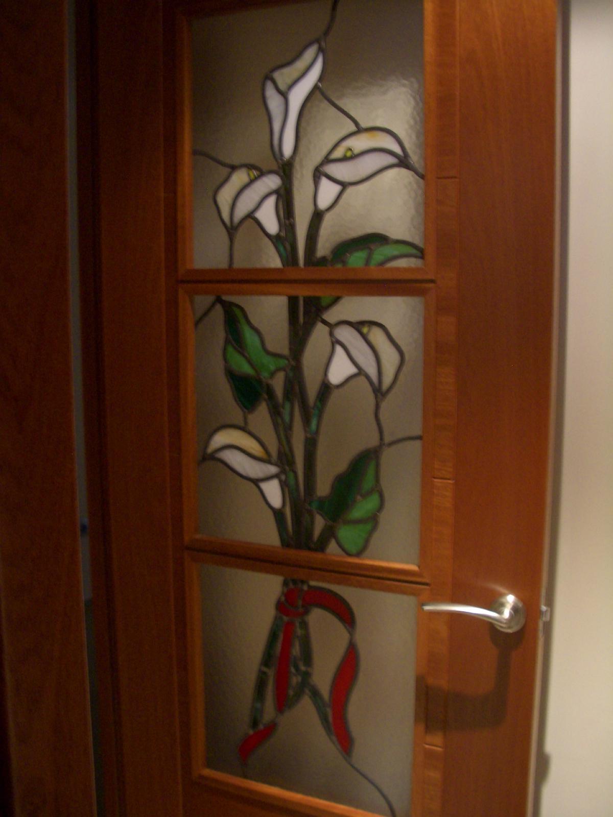 Manualidades vidrieras emplomadas - Vidrieras para puertas ...