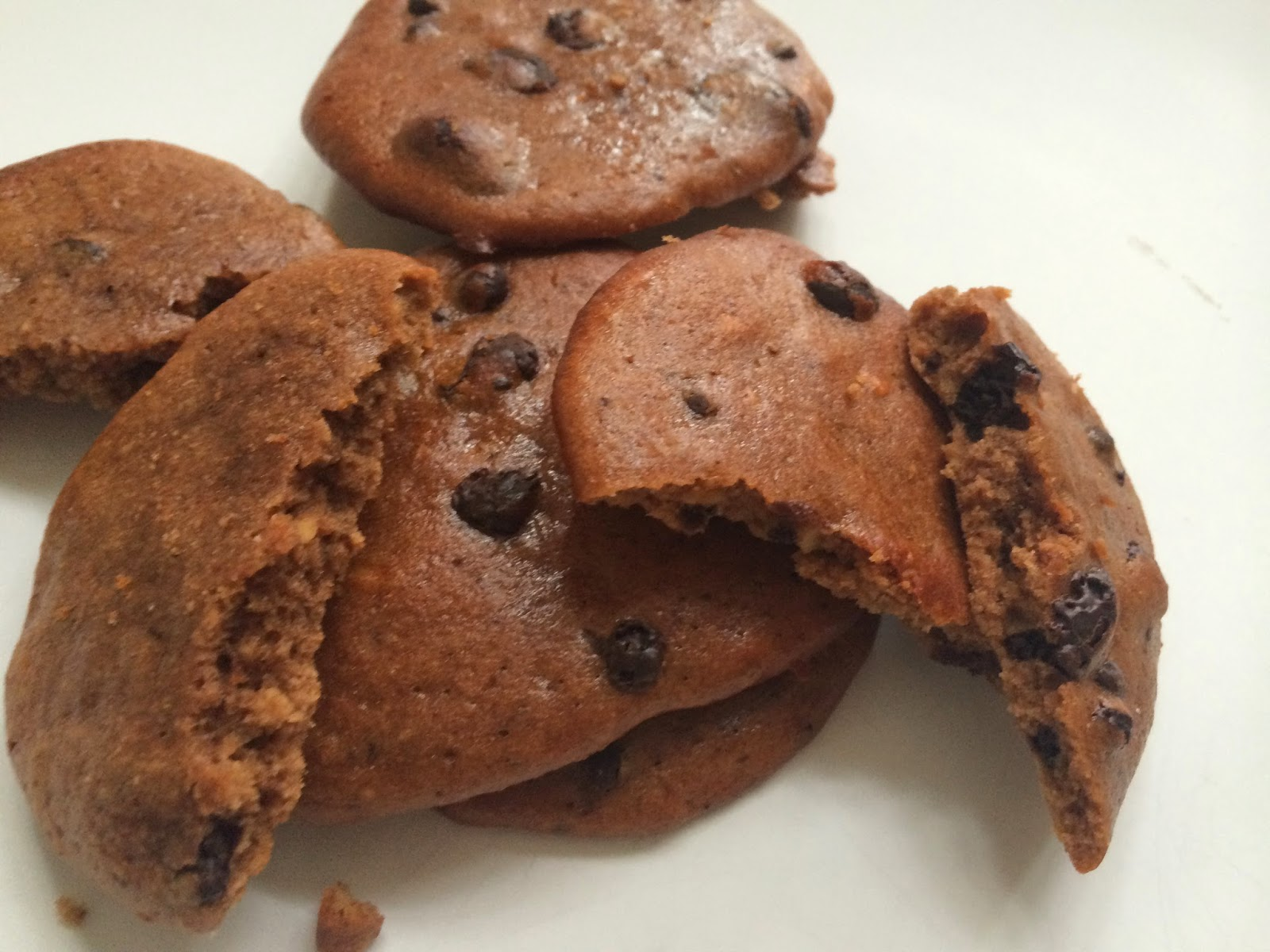 Salted Caramel Protein Cookies