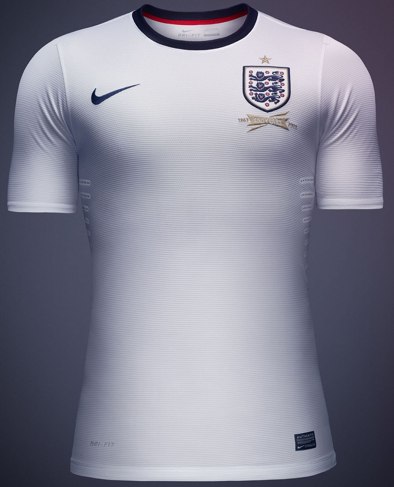New Nike England 2013 Home And Away Kits Released Footy