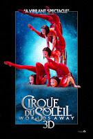 cirque du soleil worlds away 3d new poster 2