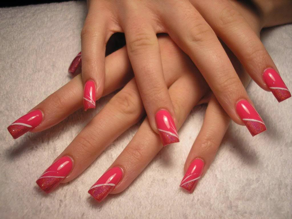 Nail salon designs nail designs simple easy salon spa for A q nail salon