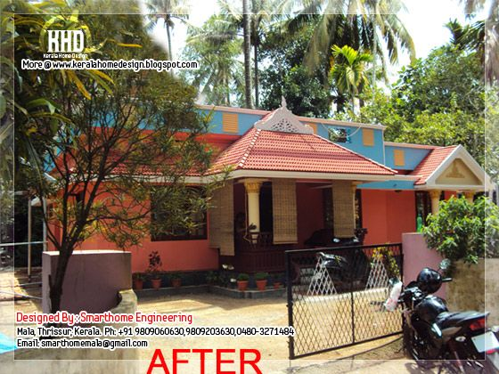 House after modification