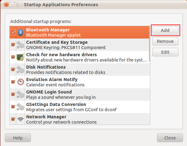 ubuntu see startup programs