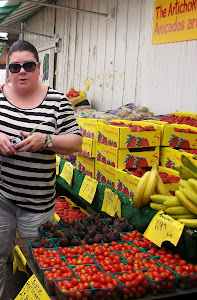 Diana at Farmstand Outside Watsonville