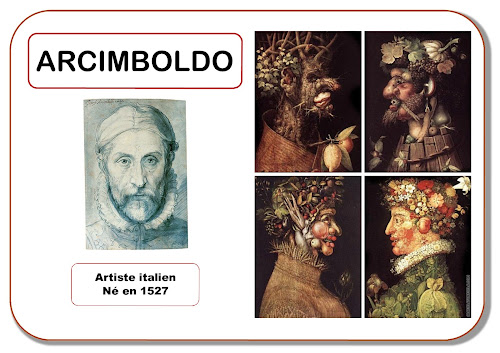 Arcimboldo - Portrait d'artiste en maternelle