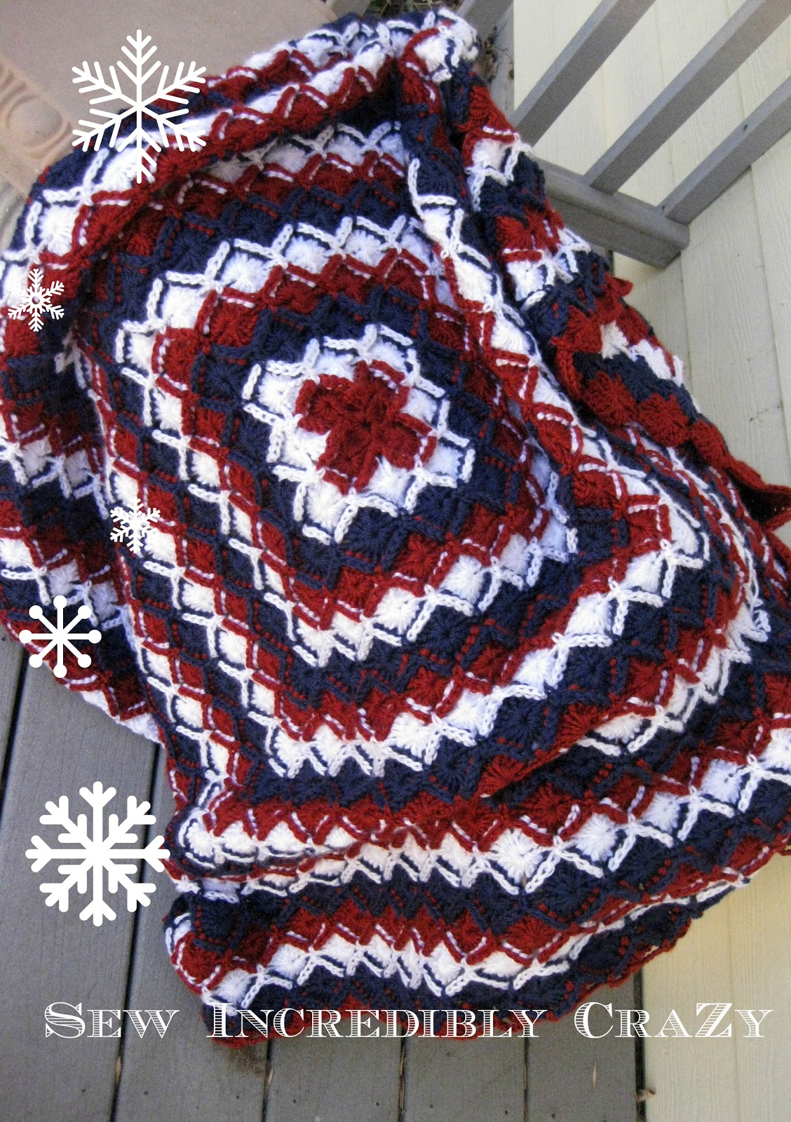 Sew Incredibly Crazy: A distraction........Bavarian Crochet