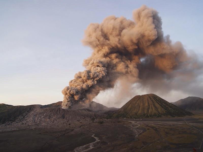 Sejarah Letusan Gunung Bromo