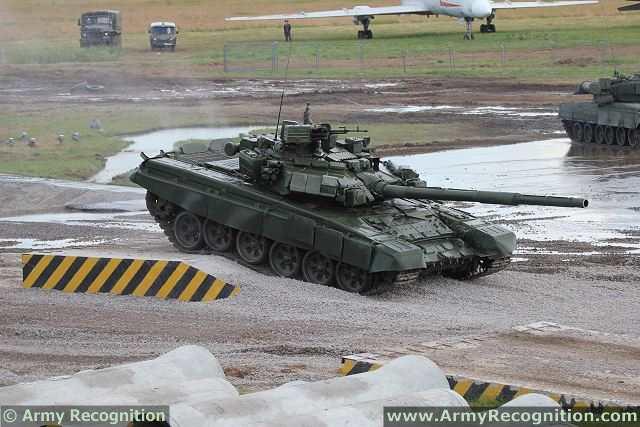 Present t 90 main battle tank at sitdef 2013 defence event in peru