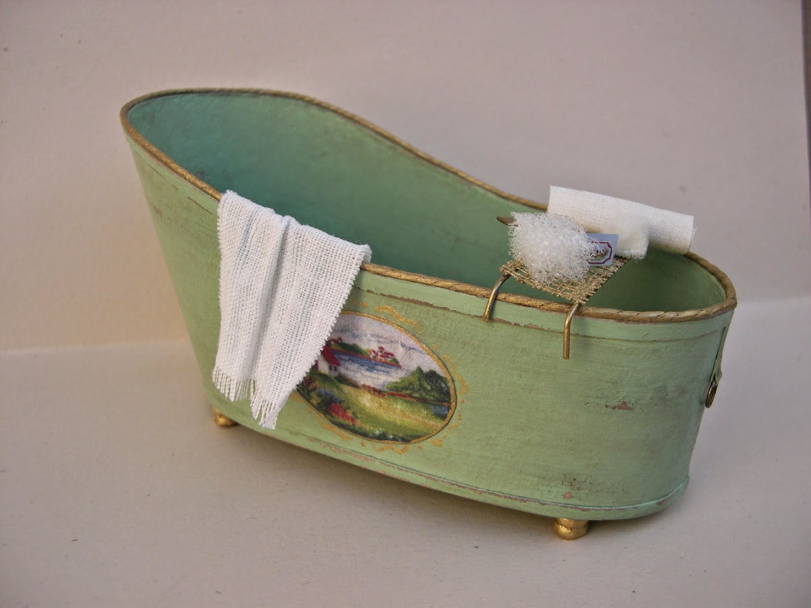 Mis rincones en miniatura muebles y complementos para el ba o - Complementos de bano ...