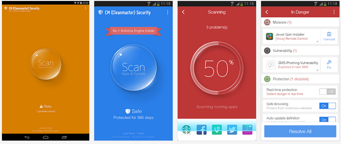 Download CM (Cleanmaster) Security FREE for Android APK 1.0