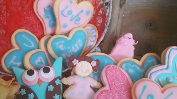 """Galletas \""""Love is in the air\"""""""