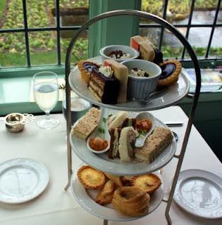 Tea Time at Butchart Gardens
