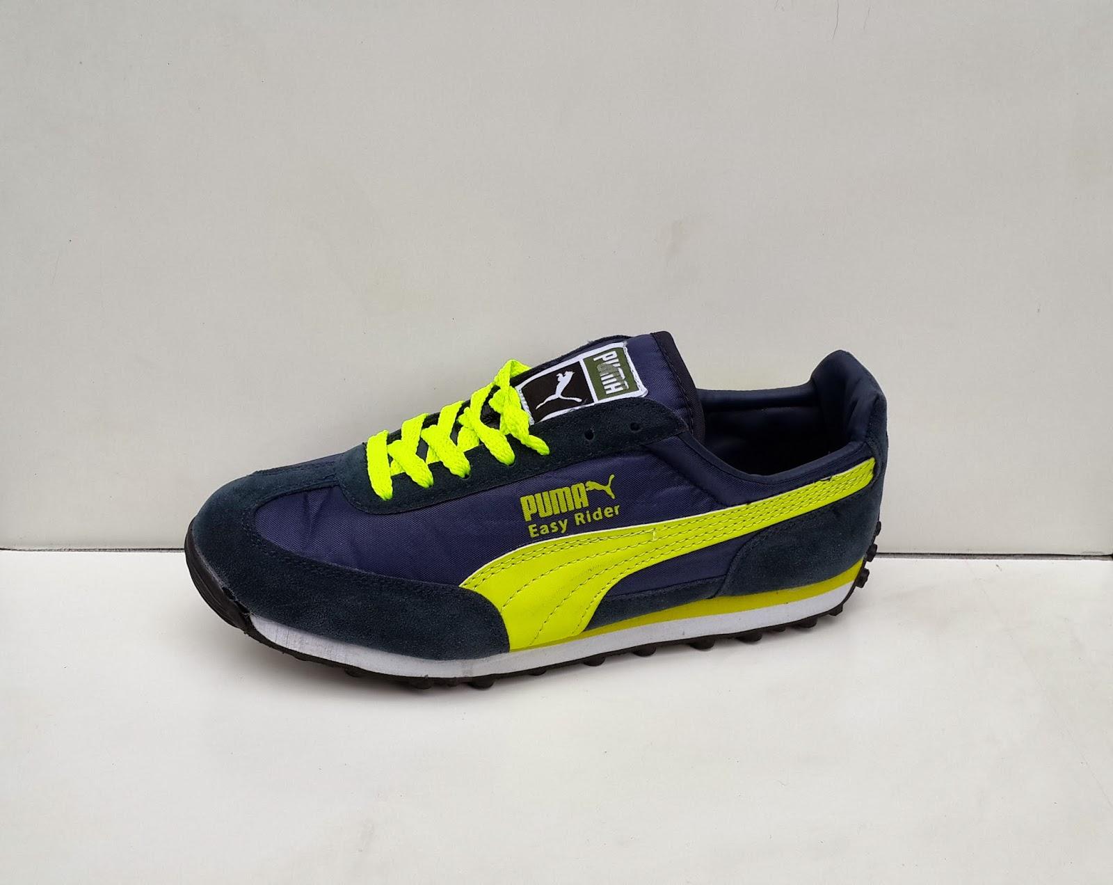 Sepatu Puma Easy Rider harga grosir, gambar sepatu puma warna biru, toko sepatu puma di jakarta
