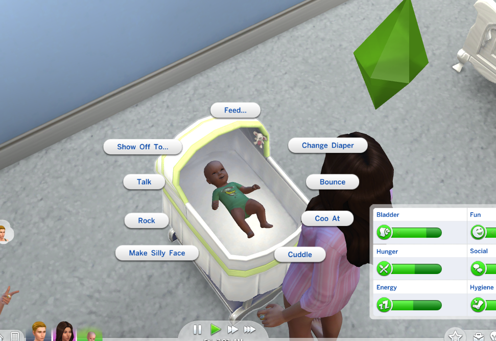 sims 4 how to get toddlers imagination skill up