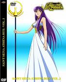 Los Caballeros del Zodiaco Athena Box - Volumen 1 - 2 - 3  + 1 DVD Extras